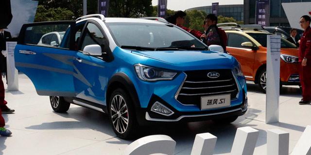 江淮全新SUV瑞风S1亮相 将北京車展发布
