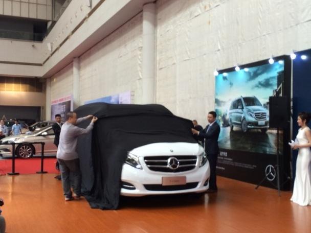 奔驰v-class东莞南城车展首发上市发布会图片