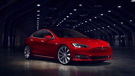 陆地最快轿跑-特斯拉新Model S亮相深圳
