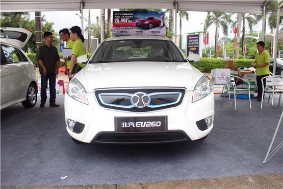 首届新能源汽车试驾体验日宝马i8特斯拉悉数到场图片