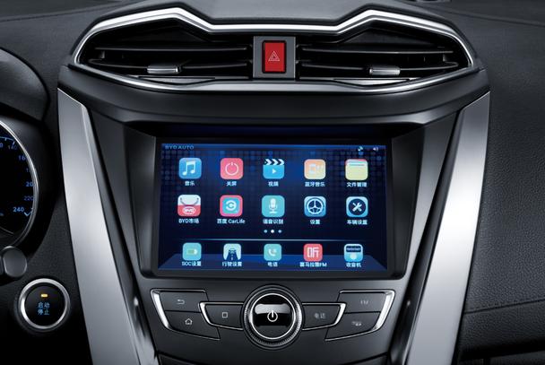 """作为一款面向年轻族群的中小型SUV,元在车联网方面与时俱进,CarPad搭载开放的安卓系统,可通过车载4G网络和wifi热点随心所欲下载App,并与百度、乐视、喜马拉雅FM等互联网大咖合作定制互联网产品,使车载应用更符合用户使用习惯。 在主被动安全方面,博世第九代ESP车身稳定系统、胎压监测系统、车道偏离系统、行车记录仪、定速巡航系统、全车8安全气囊,为消费者带来周全无忧的驾乘保护。 为""""从心一代""""勇做表率——敢想敢做,从心出发 元是为以80后、90后年轻"""