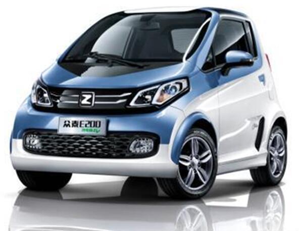 常州新能源 众泰E200纯电动汽车高清图片