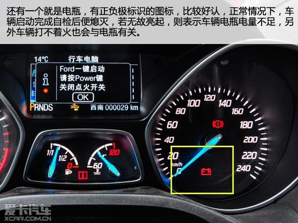 仪表盘常见五种故障 指示灯 新手必看,图片尺寸:550×412,来自网页