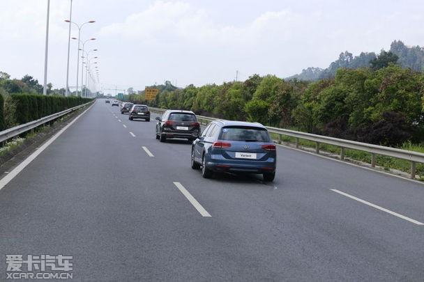 大众进口汽车蔚揽旅行轿车媒体试驾会高清图片