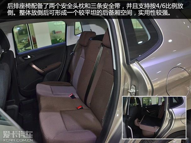 新增1.2T发动机 爱卡实拍东风标致2008高清图片