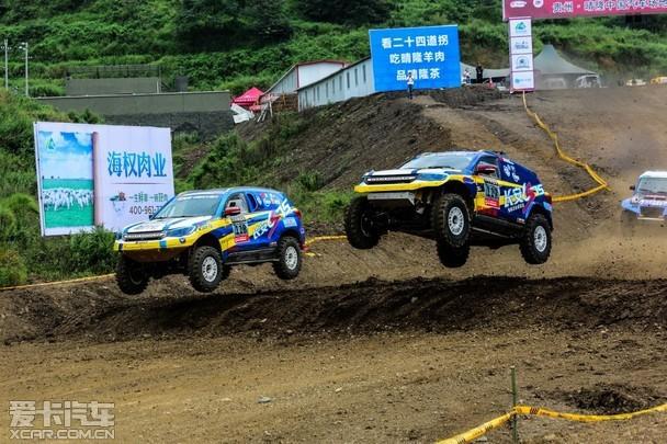 2016年COC赛程过半 长安车队晴隆夺冠