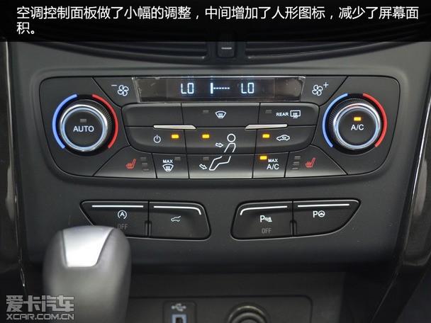 电子手刹,换挡拨片,多功能方向盘,胎压监测等,此外,新款翼虎搭载了