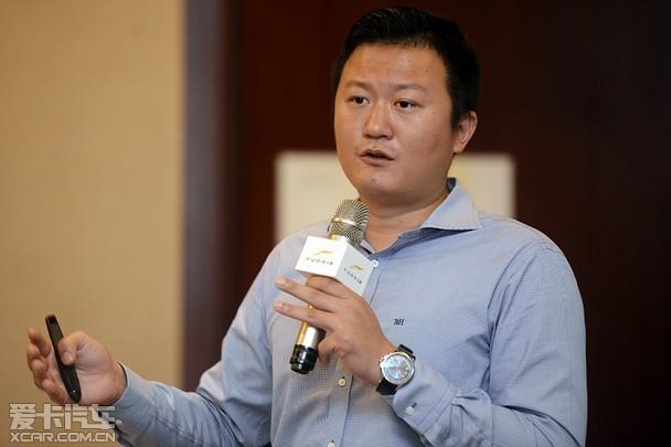 云度新能源汽车股份有限公司常务副总林密先生-云 创未来 云度汽车媒高清图片