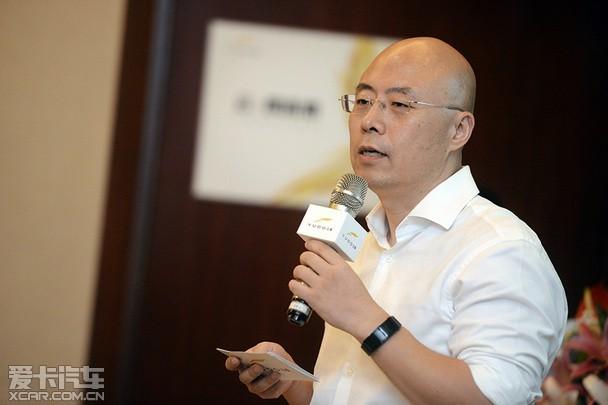云度新能源汽车股份有限公司营销副总经理葆旭东先生-云 创未来 云度高清图片