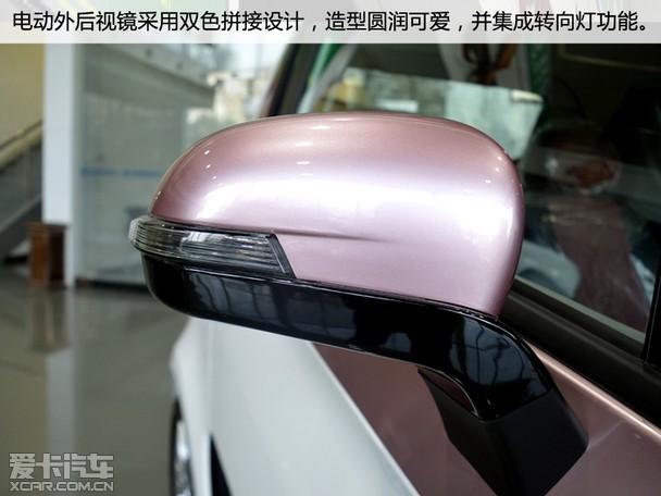 鬼大 到店实拍纯电动汽车众泰E200高清图片