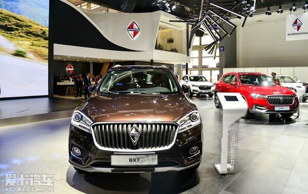 西部市场布局再加速 德国宝沃汽车亮相西安车展