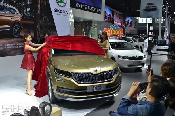 银川车市 车市动向 柯迪亚克 银川国际车展举办上市发布会      2017图片