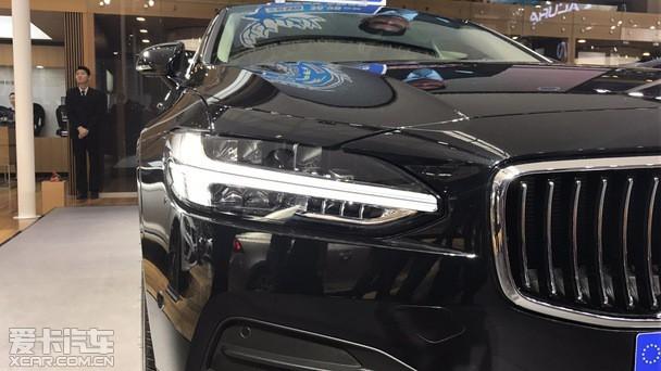 5月10日,沃尔沃全新s90长轴距版亮相青岛国际车展.