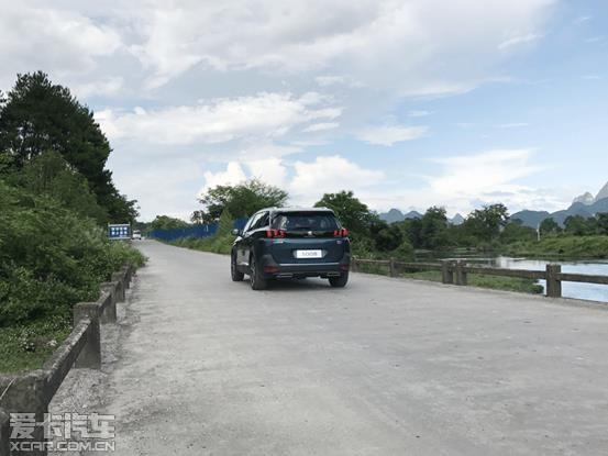 大七座长轴距 东风标致5008桂林站试驾高清图片