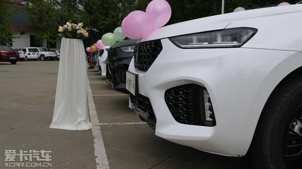 长城高端品牌WEY 集体交车暨车友会成立高清图片