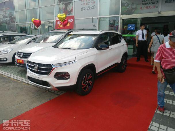 宝骏510自动挡南宁上市 6.88 7.58万元