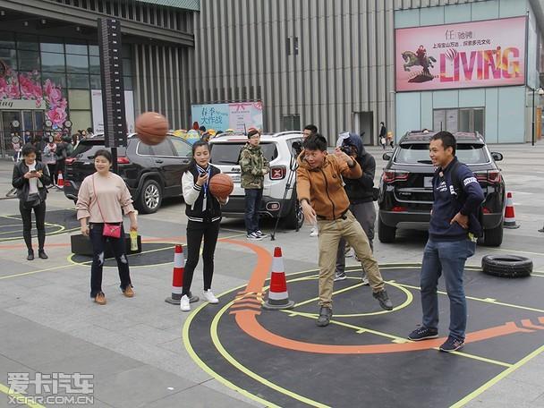 Jeep携手CBA 10城寻找全能明星上海站