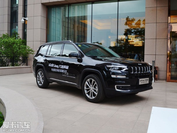 售27.98万元起 Jeep大指挥官哈尔滨上市