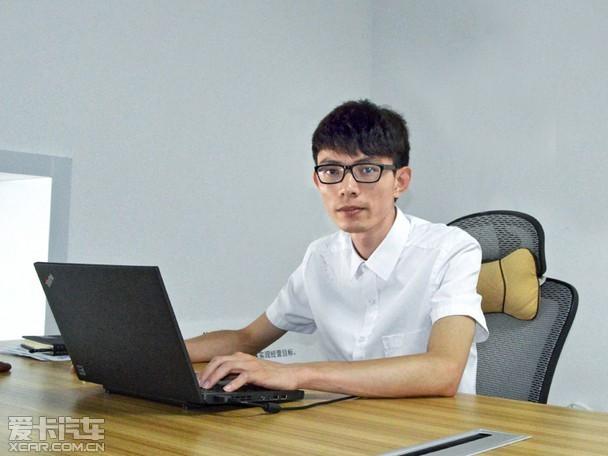 游戏心态对待 爱卡访冠祺市场经理郑翔