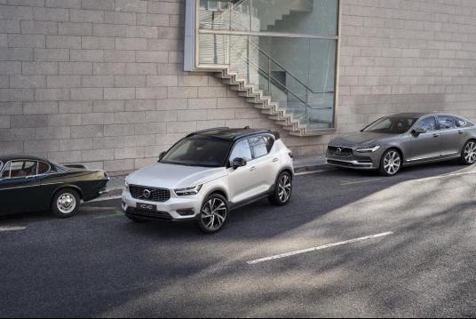 天猫看新车,都市豪华SUV沃尔沃全新XC40耀目上市