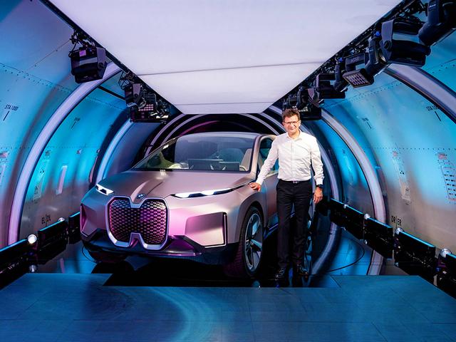 宝马iNext电动车中国亮相 将2021年量产