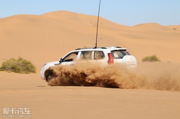 越野也有情怀 哈弗H9沙漠探秘文化之旅