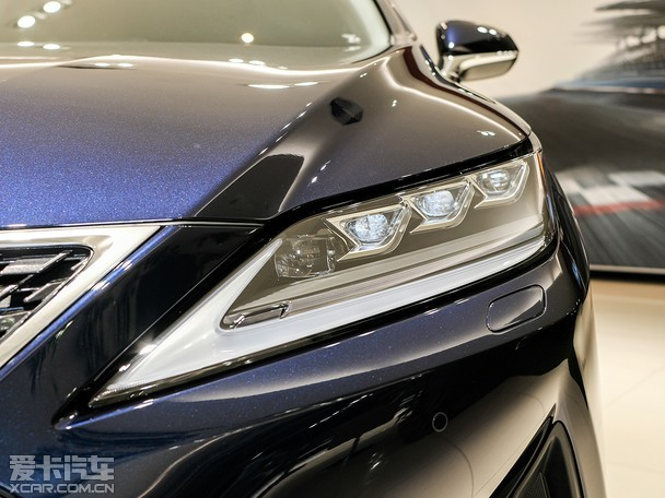 充满特色的提升 实拍雷克萨斯RX 450hL
