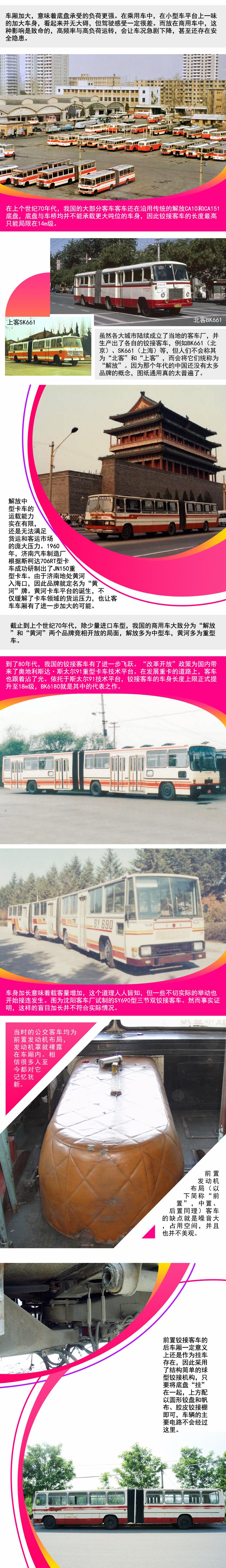 新中国成立70周年 看铰接公交车的历史