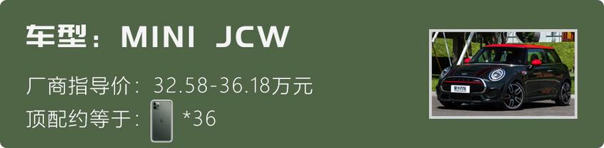 飞度 鲜韵绿MINI JCW 复古绿