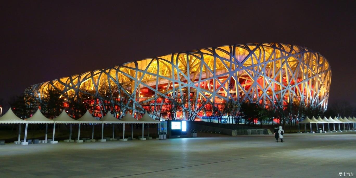 #随手拍#夜游奥林匹克公园