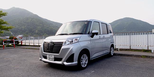 岛国体验神奇面包车 丰田ROOMY