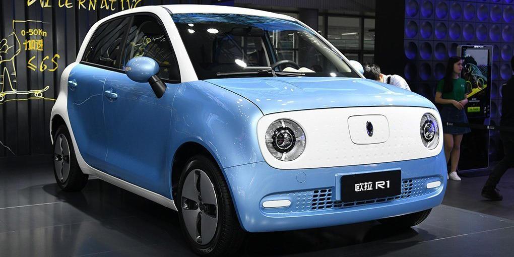 长城首款微型电动车上市,5.98万起,欧拉r1买哪款最值?图片