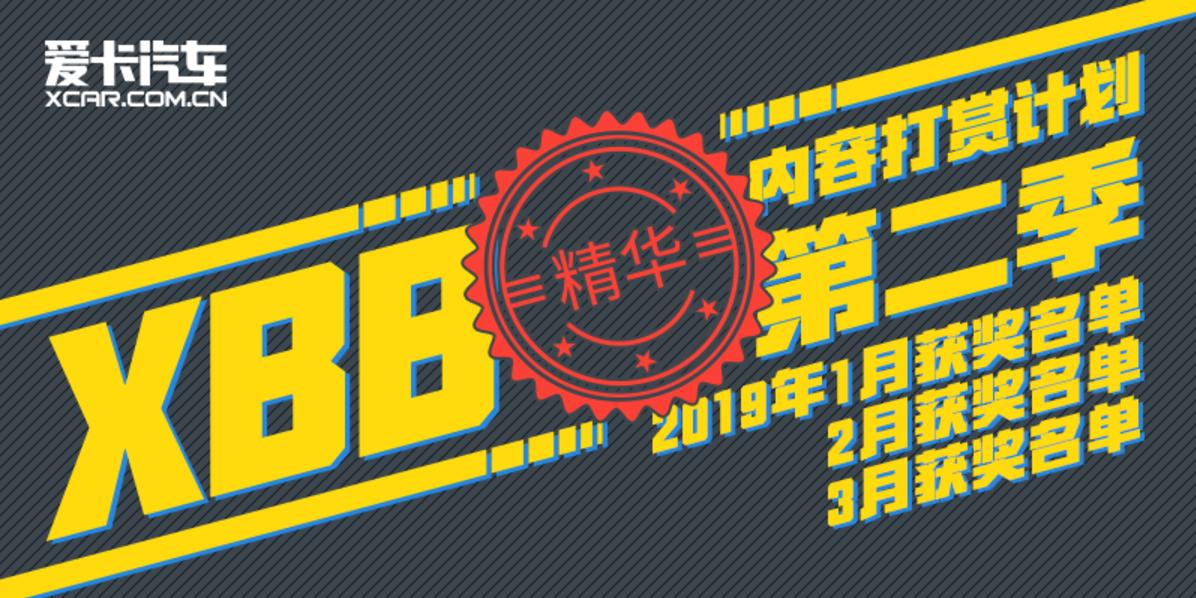 #XBB专享# 2019Q1获奖名单