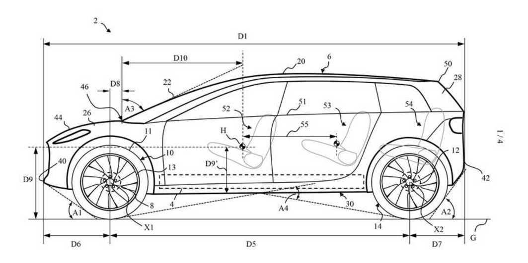 尘封两年的低调  戴森首款车型专利图纸流出