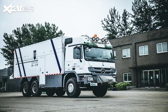 1600万的UNICAT EX70 6x6越野房车