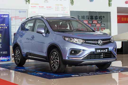 高颜值涡轮动力SUV 实拍新东风风神AX5