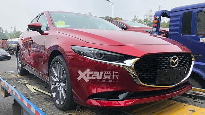 2019成都车展探馆 全新马自达3昂克赛拉