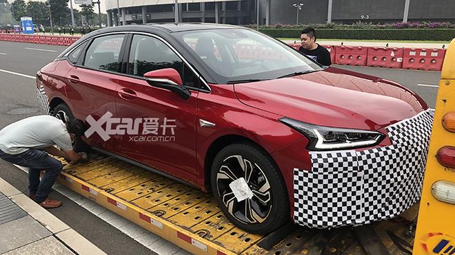 成都车展探馆:广汽丰田iA5实车抢先看
