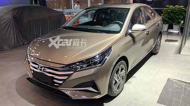 成都车展探馆:新款北京现代悦纳抢先看