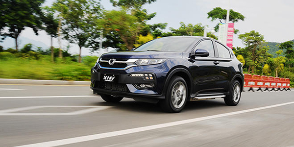 东风本田X-NV试驾 小型纯电SUV新入局者