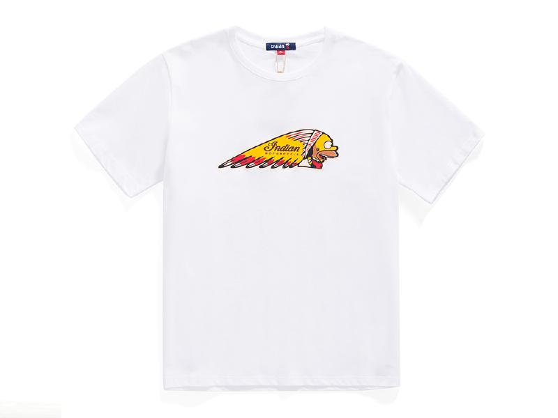 印第安印花 情侣款T恤