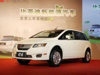 比亚迪e6北京地区上市 售30.98-33万元