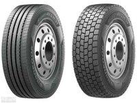 韩泰轮胎为曼(MAN)重型卡车提供轮胎