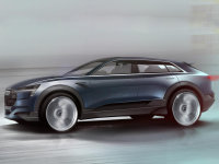 奥迪e-tron quattro概念车预告 9月首发
