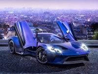 福特GT量产版北美车展发布 2017年上市