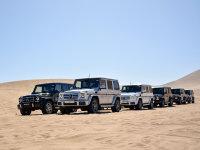 沙漠纵横 奔驰AMG GLE/GLS/G级SUV试驾