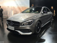 奔驰新款CLA成都车展上市 26.7-59.8万