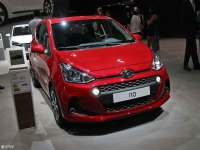 现代新款i10巴黎车展首发 颜值提升显著
