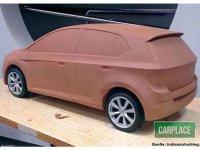 油泥中见端倪 大众全新POLO油泥模型图