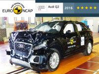 奥迪Q2拔得头筹 E-NCAP重点车碰撞解读